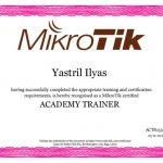 Sertifikat Academy Trainer